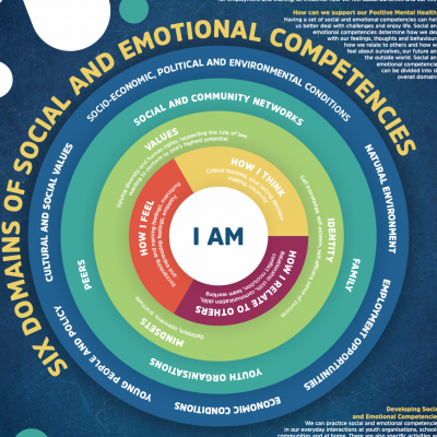 Infographic on Domains of Social and Emotional Competencies